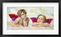Framed Raphael's Putti 2.0