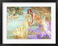 Framed Botticelli's Venus 2.0