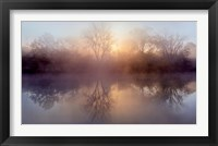 Framed Morning Lake