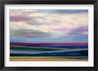 Framed Purple Horizon