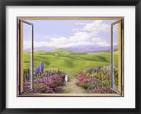 Framed Paesaggio Toscano
