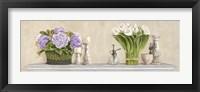 Framed Memoires du Jardin