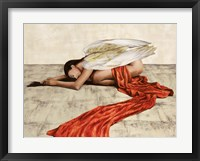 Framed Reclined Angel