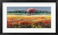Framed L'albero Rosa