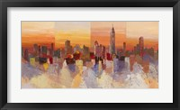 Framed Sognando New York