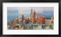 Framed New York Astratta