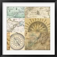 Framed Cahiers de Voyage III