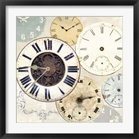 Timepieces I Framed Print