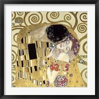 Framed Kiss  (Detail)