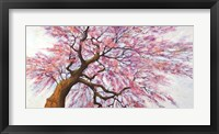 Framed Sotto l'albero in Fiore