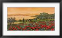 Dalle Colline Framed Print