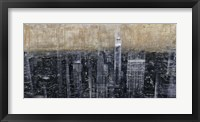 Framed NYC Aerial 3