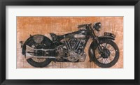 Framed Brough Superior