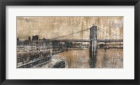 Framed Brooklyn Bridge 1