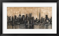 Framed NYC Skyline 1