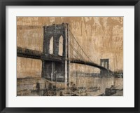 Framed Brooklyn Bridge 2