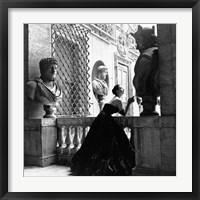 Framed Evening Dress, Roma, 1952