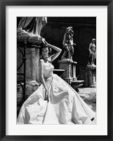 Framed Evening Gown, Colosseo, Roma 1952 (Detail)