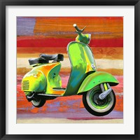 Pop Scooter I Framed Print