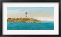 Lighthouse Seascape I Framed Print