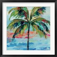 California Palm I Framed Print