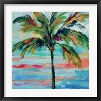 California Palm II Framed Print