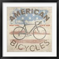 Framed American Bikes