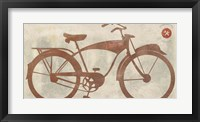 Framed Vintage Bike