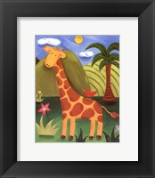 Framed Gerry the Giraffe