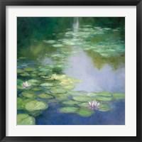 Framed Blue Lily I