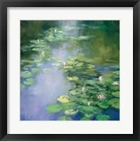 Framed Blue Lily II