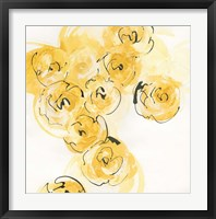 Yellow Roses Anew I Framed Print