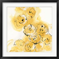 Framed Yellow Roses Anew II