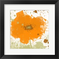Framed Modern Orange