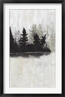 Pine Island II Framed Print