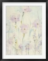 Lilac Floral II Framed Print