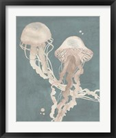 Jellyfish Dance I Framed Print