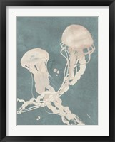 Jellyfish Dance II Framed Print