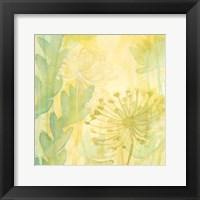 Florid Garden I Framed Print