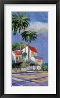 Framed Key West I