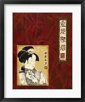 Framed Geisha I