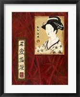 Framed Geisha II