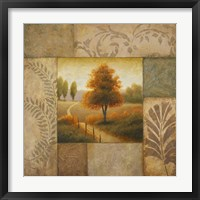 Warm Season I Framed Print