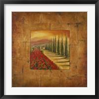Bella Toscana I Framed Print
