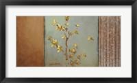 Sun-Kissed Branches I Framed Print