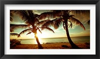 Framed Bimini Sunset II