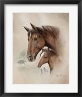 Race Horse I Framed Print