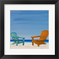 Framed Coastal Scene IV