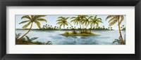 Cool Tropics I Framed Print