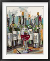 Uncorked II Framed Print